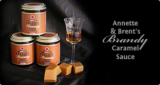 Annette and Brent's Caramel Brandy Sauce